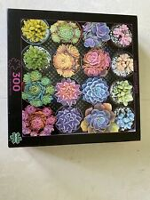 Puzzle 300 Pieces Sweet Succlents , buffalo Games