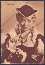 CONSTANCE BENNET 04 ATTRICE ACTRESS ACTRICE FRANCE Cartolina NON FOTOGRAF. 1938