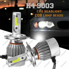 2Pcs 9003 H4 HB2 6000K LED Headlight Conversion Kit Hi /Lo Beam Halogen Bulbs