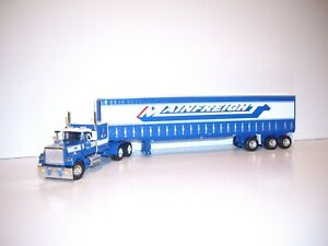 DCP FIRST GEAR 1/64 MAINFREIGHT MACK SUPERLINER&SLEEPER&53' UTILITY TAUTLINER