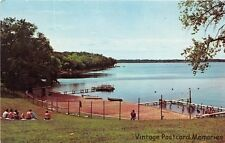 ANNANDALE MN 1963 Waterfront View @ The Minnesota A.R.C. Camp on Clearwater Lake