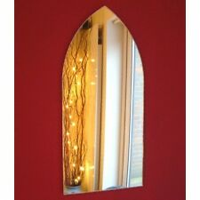 Gothic Arch Shaped Mirrors (Shatterproof Safety Acrylic Mirrors, Several Sizes)
