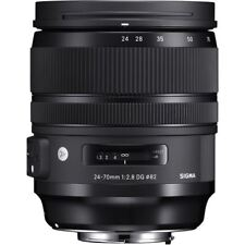 Sigma Art 24-70mm F/2.8 DG OS HSM Lens For Canon (Black)