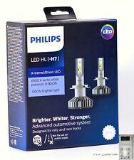 PHILIPS H7 X-treme Ultinon LED car headlight bulb 12985BWX2 6000K +200% brighter