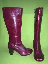 Blood Red Miz Mooz Neptune Boots 8 39
