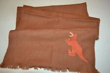 Paul Smith Womens Embroidered DINO Wool Scarf Brand New