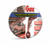 Guns Magazine, 108 Classic Issues, 1955-1963, Reloading, Shooting Mag DVD CD C07