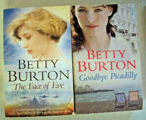 2 x Betty Burton - The Face of Eve + Goodbye Picadilly