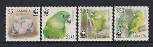 Jamaica - 2006, Endangered Species, Birds, WWF set - MNH - SG 1121/4
