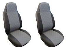 Front Seat Covers Toyota Auris Avensis (Verso) Corolla (Verso) Rav4 BLACK GREY