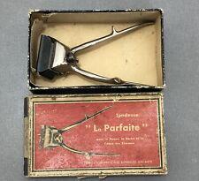 Lot 2 Tondeuses Mécaniques Anciennes Vintage La Parfaite Fabrication Française