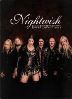 NIGHTWISH 2015 ENDLESS FORMS MOST BEAUTIFUL TOUR CONCERT PROGRAM BOOK / NM 2 MNT
