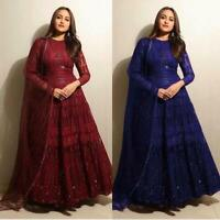 Bollywood Anarkali Suit Salwar Kameez Party Wear Indian Pakistani Dress New RTC