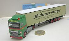 "Herpa 306096 DAF XF SC Plan Curtain - Trailer "" angermayr "" (A)"