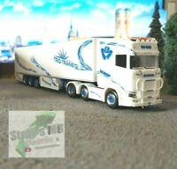 Herpa 309967 1:87 Scania CS 20 Hochdach HD 6x2 Kühlkoffer Auflieger Trio Trans