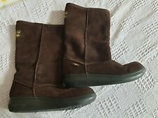 Rocket Dog Women Boots Shoes Size UK 6 EUR 39 Brown Suede