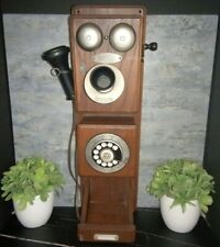 """Antique Western Electric Crank/Rotary Wall Phone 32"""""""