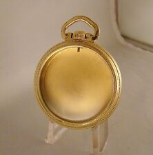 POCKET WATCH CASE STAR WATCH CASE CO. 10k GOLD OPEN FACE 16s