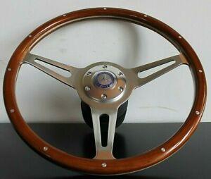 Steering Wheel Mercedes Benz Wood W110 W114 W115 W116 W123 R107 1962-1978