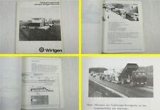 Wirtgen Remixer Fahrbahnsanierung Straßenbau Vortragsmanuskript 11/1985