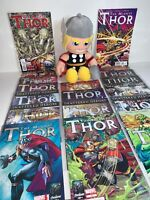 "Marvel The Mighty Thor Bundle 1-16 Comic Books With 13"" Plush Soft Toy"