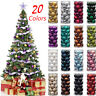 34PC 40mm Christmas Tree Balls Small Bauble Hanging Home Party Ornament Decor UK