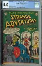 Strange Adventures #14 CGC 5.0 Robot Cover Captain Comet App Sci-Fi