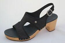 New Ugg Australia Women's Lomita Black Clogs Sandals Sz Us 11