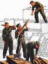 Tamiya 1/35 German Tank Ammo Loading Crew  Plastic Assembly Kit #35188