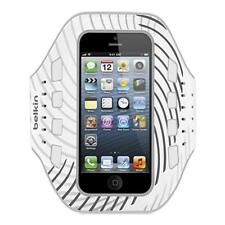 Belkin Pro-Fit Sports Armband Case Neoprene For iPhone 5 - White/Black F8W107VFC