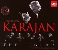 KARAJAN - THE LEGEND - COFFRET 2 CDs - 19 TITRES - NEUF NEW NEU