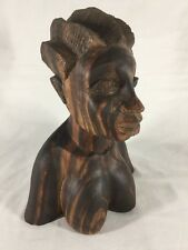 African Hand Carved Solid Wood Sculpture (reef B356)