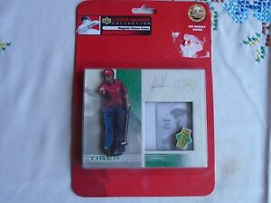 TIGER WOODS COLLECTION BY THE UPPER DECK CO.MAGNETIC PICTURE FRAME - HOLDS 2 x
