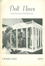 1970 Doll News Magazine United Federation of Doll Clubs (February)