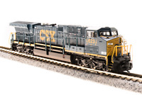 BROADWAY LIMITED 3747 N Scale  AC6000Cw CSX #5011 Dark Future Paragon3 Sound/DCC