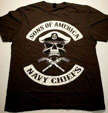 Anvil lightweight t-shirt Sons Of America Navy Chiefs size large