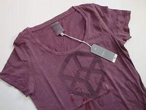 G-STAR   Shirt  STAGE  R R T  WMN S/S  Print  Beere  Gr. XS  Gr. 34  Neu