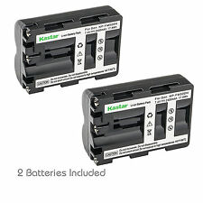 Kastar NP-FM500H Battery Charger Sony SLT-A99 A99V DSLR α560 α580 α100 α58 α77II