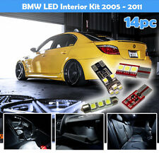14x BMW E90 3 SERIES 2004 - 2009 COMPLETE UPGRADE LED LIGHT BULBS INTERIOR KIT