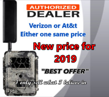 """""""NEW LOW PRICE"""" 2019 HCO Spartan AT&T 4G BLACK FLASH CELLULAR TRAIL CAMERA,"""