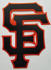 "HUGE SAN FRANCISCO GIANTS IRON-ON PATCH - 5.5"" x 8"""