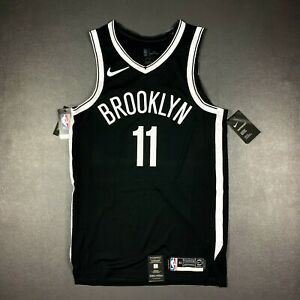 100% Authentic Kyrie Irving Nike Icon Nets Jersey Size 44 M Mens