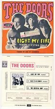 RARE FRENCH EP THE DOORS LIGHT MY FIRE