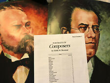 Alfred Portraits of Famous Composers Set 1 Classical