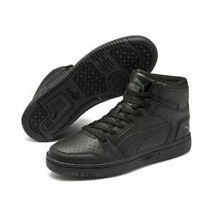 Puma Rebound LayUp Mid SL Unisex Schuhe Sneaker Mid Cut Basketballschuhe Schwarz