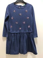 John Lewis Cotton Dress Age 6 yrs - sequin stars