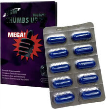 Thumbs Up7 Fast Acting Male Amplifier for Strength Performance Energy Blue 10cap