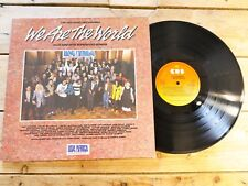 USA AFRICA WE ARE THE WORLD LP VINYLE 33T EX COVER EX 1985