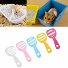 5Pcs Hamster Bath Spoon Litter Scooper Small Pet Sand Spoon Cleaning Tool
