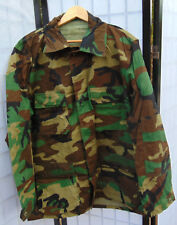 U.S.Military Woodland Camo Combat Coat/Jacket Size L/XL/Long new IRR condition